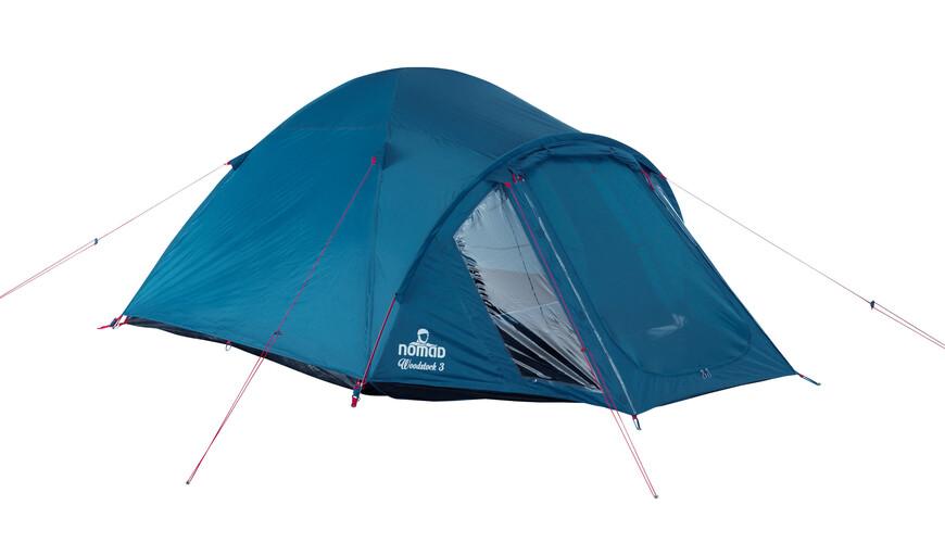 Nomad Woodstock 3 Telt blå